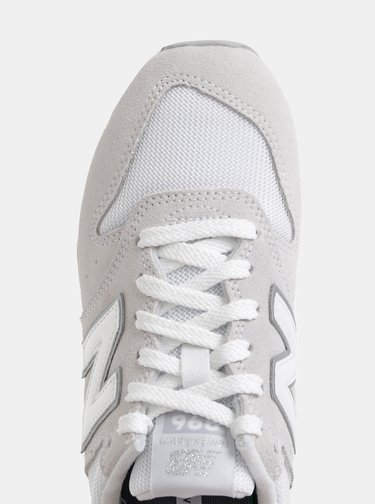 Svetlošedé dámske semišové tenisky New Balance 996