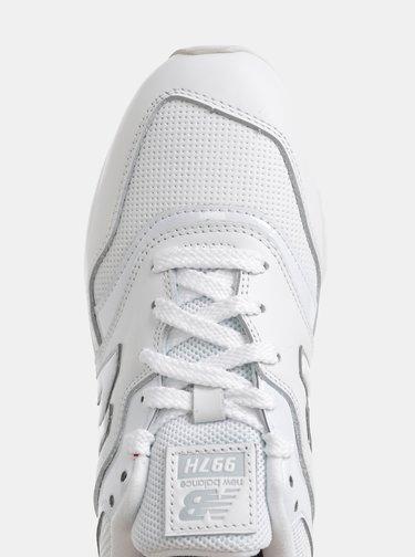 Biele dámske kožené tenisky New Balance 997H
