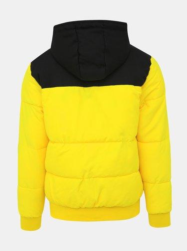 Žltá prešívaná zimná bunda ONLY & SONS Boston