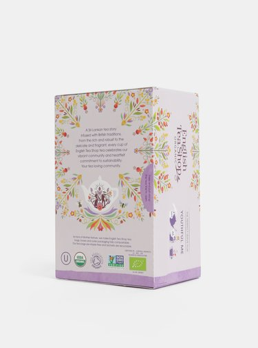 Bio bylinný čaj s ibiškem, šípky a rakytníkem English Tea Shop Omlazení