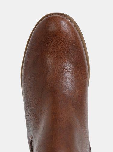 Hnedé dámske chelsea topánky Tom Tailor