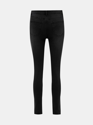 Tmavě šedé skinny fit džíny TALLY WEiJL