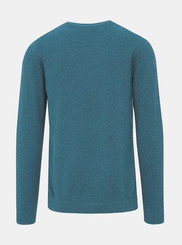 Modrý basic svetr Selected Homme Dante