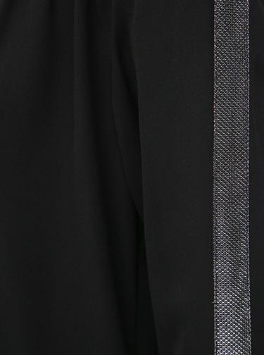 Čierna voľná blúzka ONLY Timca