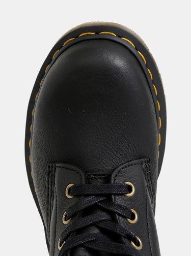 Černé kožené kotníkové boty Dr. Martens 1460 Pascal
