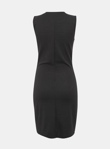 Černé pouzdrové šaty s krajkou Jacqueline de Yong Panna