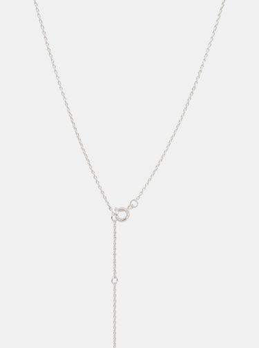 Náhrdelník ve stříbrné barvě VILA