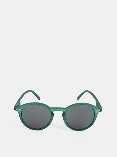 Zelené slnečné okuliare s čiernymi sklami IZIPIZI #D