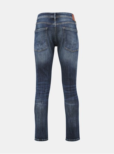 Modré pánske tapered fit rifle Pepe Jeans Stanley