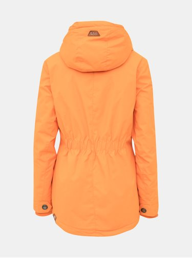 Oranžová dámska  zimná bunda Ragwear Zuzka Monade