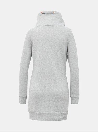 Světle šedé mikinové šaty Haily´s Lilly