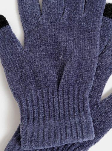 Modré dámské dotykové rukavice Haily´s Sally
