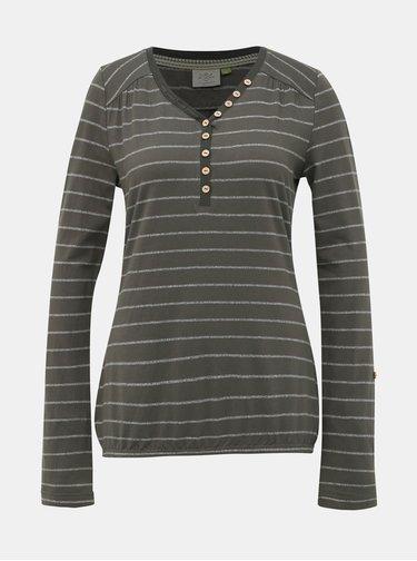 Zelené dámské pruhované tričko Ragwear Pinch