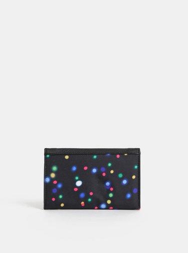 Černá dámská puntíkovaná peněženka Meatfly Needle