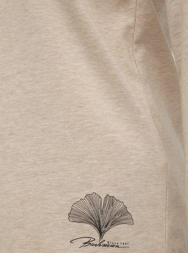 Béžové dámske tričko BUSHMAN Mangolia