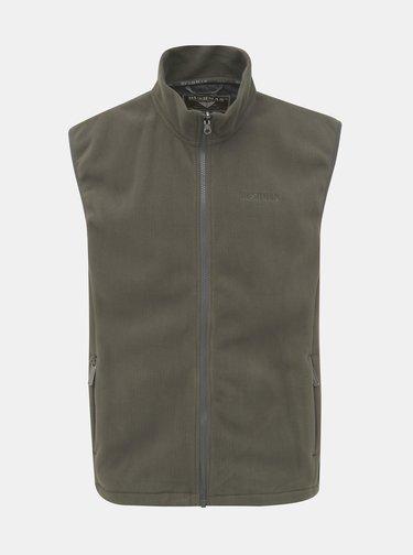 Kaki pánska zimná bunda s odnímateľnou vestou 2v1 BUSHMAN Wolf