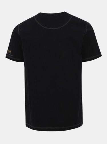 Černé pánské tričko BUSHMAN Oramsy