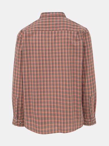 Červená pánská kostkovaná košile BUSHMAN Stoke