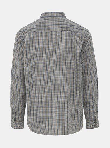 Zelená pánska kockovaná košeľa BUSHMAN Stoke