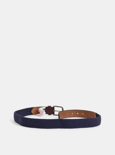 Modrá kožený pásek ONLY & SONS Cas