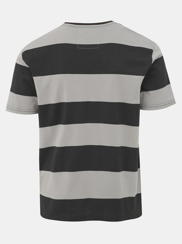 Šedé pruhované tričko ONLY & SONS Next