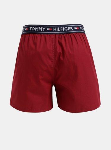 Vínové trenýrky Tommy Hilfiger
