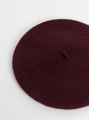 Fialový vlněný baret Tom Joule Wilsford
