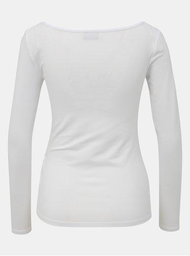 Bílé basic tričko Noisy May Mena