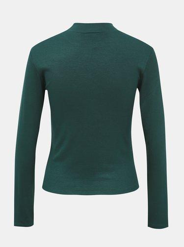 Tmavozelené dámske basic tričko Haily´s Zoe