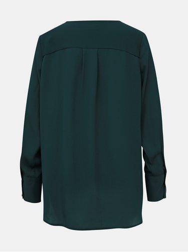Tmavě zelená halenka Selected Femme Stina