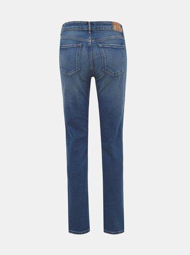 Modré dámské straight fit džíny Pepe Jeans Mary
