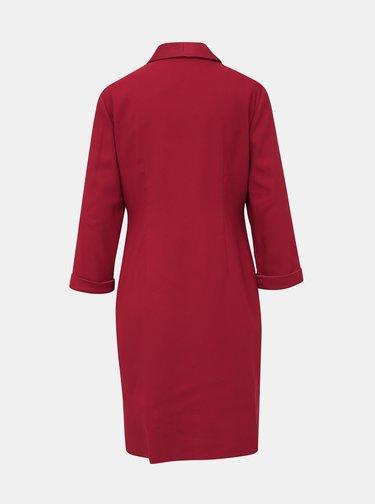 Vínové šaty Dorothy Perkins