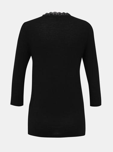 Čierne tričko VERO MODA Honey