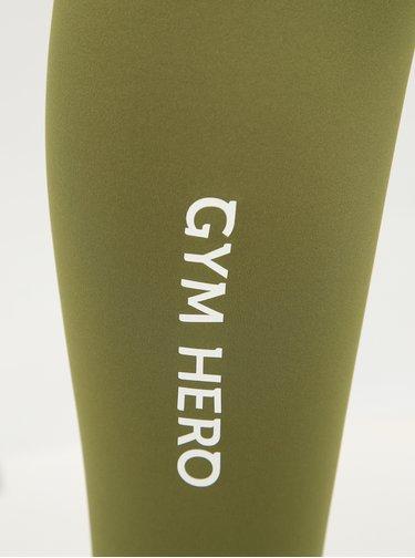 Zelené športové legíny Gym Hero