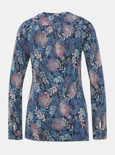 Modrá květovaná halenka Brakeburn Falling