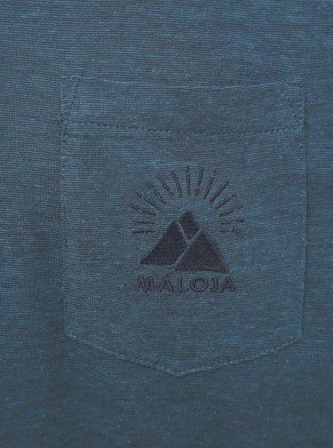 Modré pánske tričko Maloja Casnil