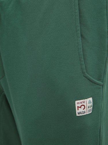 Zelené pánské tepláky Maloja Soglio