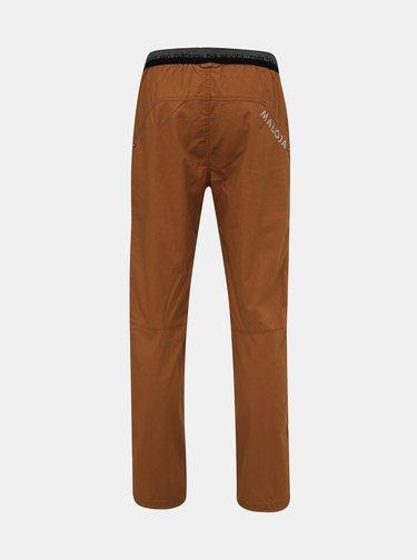 Hnedé pánske konopné nohavice Maloja Esra