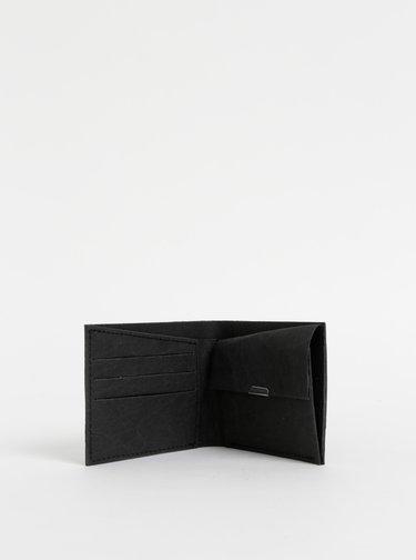 Čierna peňaženka z prateľného papieru BeWooden