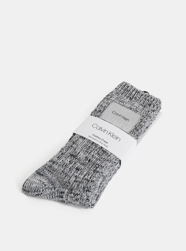 Šedé dámske ponožky Calvin Klein Jeans