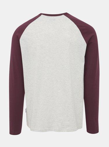 Svetlošedé tričko Burton Menswear London