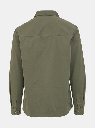 Khaki džínová košile Burton Menswear London