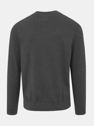 Tmavošedý sveter Burton Menswear London