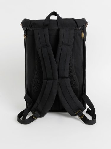 Černý voděodolný batoh Doughnut American Vintage 26 L