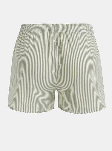 Zelené dámske pruhované trenýrky El.Ka Underwear