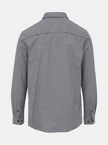 Šedá kostkovaná košile Jack & Jones Rivan