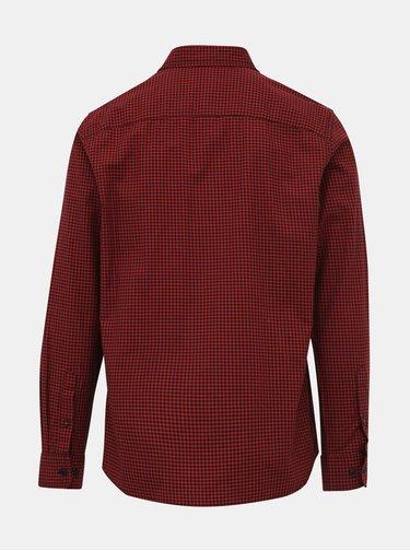 Červená kostkovaná košile Jack & Jones Rivan