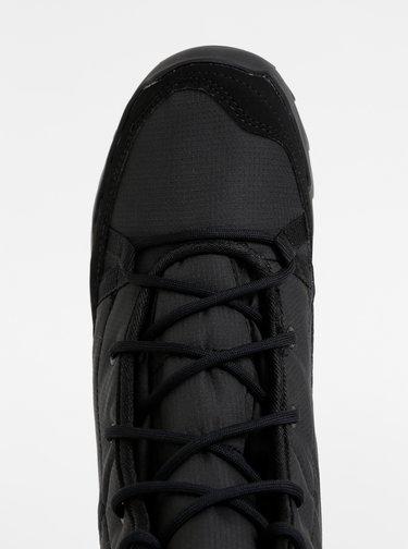 Čierne dámske zimné vodeodolné topánky adidas Performance Terrex
