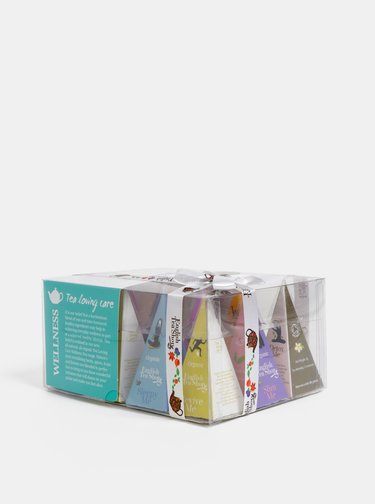 Sada dvanácti organických čajů English Tea Shop  Wellness kolekce
