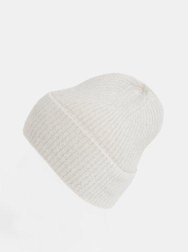 Krémová čapica touch me.